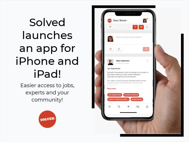 New Solved app